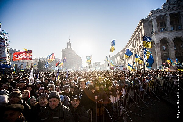 Author: Sasha Maksymenko; URL: https://commons.wikimedia.org/wiki/File:Anti-government_protests_in_Kiev_(13087644205).jpg