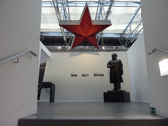 Entrance to the Museum of Commmunism