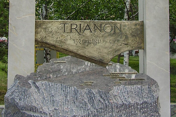 Author: Tobi85, URL: http://commons.wikimedia.org/wiki/File:Trianon_Statue_Bekescsaba_big.jpg?uselang=de